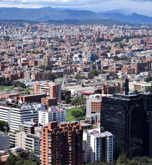 city, bogotá, panoramic